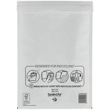 Image of Mail Lite Bubble Lined Postal Bag / White / 220x330mm / Pack of 50