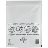 Image of Mail Lite Bubble Lined Postal Bag / White / 240x330mm / Pack of 50