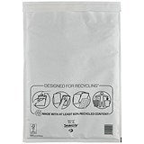 Image of Mail Lite Bubble Lined Postal Bag / White / 300x440mm / Pack of 50