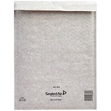 Image of Mail Lite Plus Bubble-Lined Postal Bag / 240x330mm / Peel & Seal / Oyster / Pack of 50