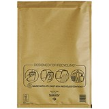 Image of Mail Lite Bubble Lined Postal Bag / Gold / 300x440mm / Pack of 50