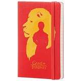 Image of Moleskine Game of Thrones Notebook / 192 Pages / Pocket / Ruled / Red