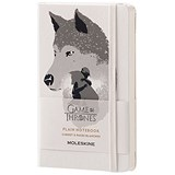 Image of Moleskine Game of Thrones Notebook / 192 Pages / Pocket / Plain / White