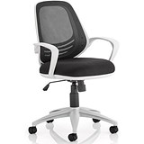 Image of Atom Operator Chair / Black / Built