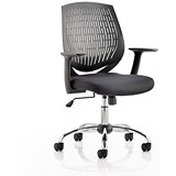 Image of Dura Operator Chair / Black / Built