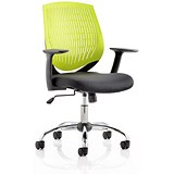Image of Dura Operator Chair / Green / Built