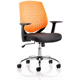 Image of Dura Operator Chair / Orange / Built