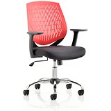 Image of Dura Operator Chair / Red / Built
