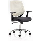 Image of Dura Operator Chair / White / Built