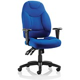 Image of Galaxy Operator Chair / Blue / Built