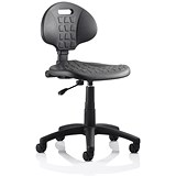 Image of Malaga Standard Lab Chair / Black / Built