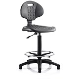Image of Malaga High Lab Chair / Black / Built