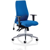 Image of Onyx Ergo Posture Chair / Blue / Built