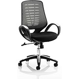 Image of Sprint Airmesh Operator Chair - Silver Back