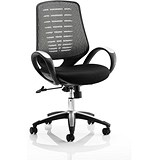 Image of Sprint Airmesh Operator Chair / Silver Back / Built