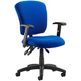 Toledo Operator Chair - Blue