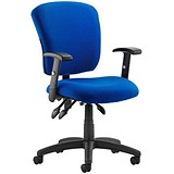Image of Toledo Operator Chair / Blue / Built