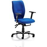 Image of Sierra Executive Chair / Blue / Built