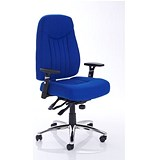 Image of Barcelona Plus Task Operator Chair / Blue / Built