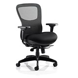 Image of Stealth Shadow Ergo Posture Chair / Mesh / Black