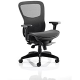 Stealth Shadow Ergo Posture Chair / Mesh / Black / Built