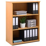 Image of Momento Medium Bookcase - Beech