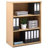 Image of Momento Medium Bookcase - Maple