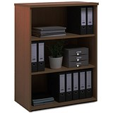 Image of Momento Medium Bookcase - Walnut
