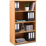 Image of Momento Medium Tall Bookcase - Beech