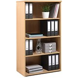 Image of Momento Medium Tall Bookcase - Maple