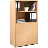 Image of Momento Low Open Top Display Cupboard - Maple