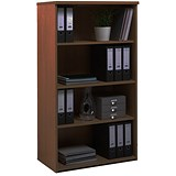 Image of Momento Medium Tall Bookcase - Walnut