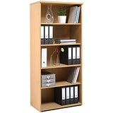 Image of Momento Tall Bookcase - Maple