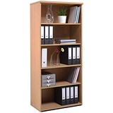 Image of Momento Tall Bookcase - Oak