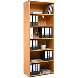 Image of Momento Extra Tall Bookcase - Beech