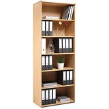 Image of Momento Extra Tall Bookcase - Maple