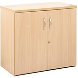 Image of Momento Low Cupboard - Maple