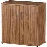 Image of Impulse Low Cupboard - Walnut