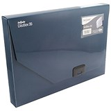 Image of Snopake Document Box / 35mm Spine / A4 / Blue