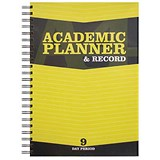 Image of Silvine Teacher Academic Planner and Record / A4 / 9 Day Period / Yellow