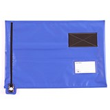 Go Secure Lightweight Security Pouch / A3 / 360x470mm / Blue