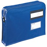 Image of Go Secure Gusset Mailing Pouch / 475x330x76mm / Blue