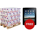 Image of Xerox Performer A4 Multifunctional Paper / White / 80gsm / Pallet (40 Boxes) + FREE iPad air