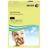 Image of Xerox Symphony Pastel Tints Paper / Yellow / A3 / 80gsm / Ream (500 Sheets)