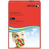Image of Xerox Symphony Deep Tints Paper / Dark Red / A4 / 80gsm / Ream (500 Sheets)