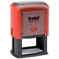 Trodat Printy TVC4927 Bespoke Self-Inking Custom Stamp - 59x38mm (Up to 8 Lines of Text)