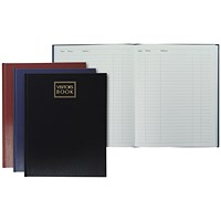 Collins Company Visitors Book, A4, 192 Pages, 254x203mm, Random Colour