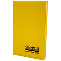 Chartwell Field Survey Book, 130x205mm, Weather Resistant, 80 Leaf