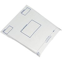 Keepsafe Extra Strong Polythene Envelopes, DX, 440x320mm, Peel & Seal, Opaque, Box of 100