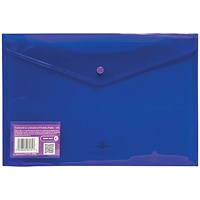 Concord Foolscap Stud Wallet Files / Vibrant / Purple / Pack of 5